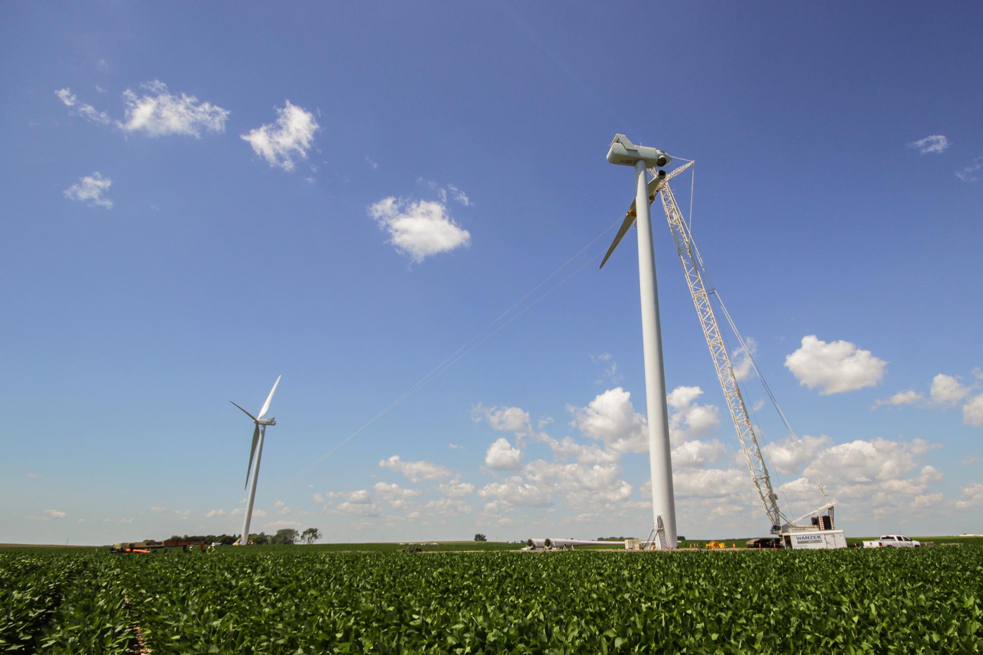 Courtenay Wind Farm Xcel Energy