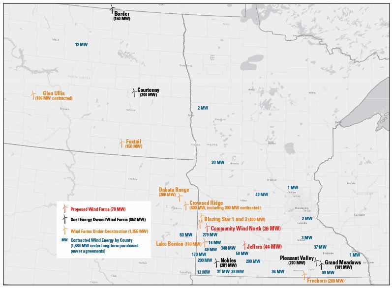 Upper Midwest Wind Power | Xcel Energy